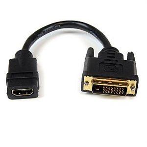 HDMI TO DVI D ADAPTOR HDMI F TO HDMI M