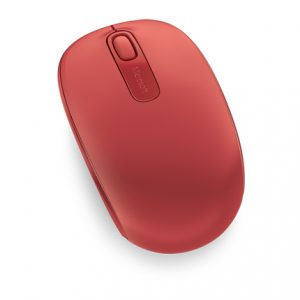 Wireless Mobile Mouse 1850, Red